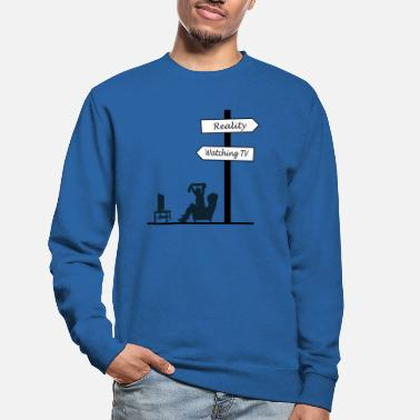 Serie Kijk TV TV Reality Gift - Unisex sweater