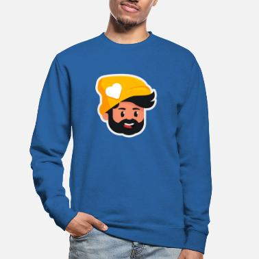 Golden Bearded Man - Unisex Sweatshirt