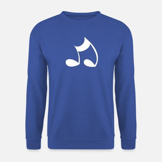 Tone Hoodies & Sweatshirts - Note - Men's Sweatshirt royal blue