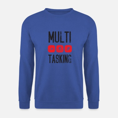 Marathon Triathlon. Multi Tasking. - Men's Sweatshirt
