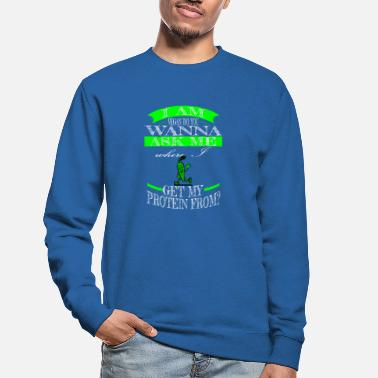 Govegan enviromental joke animal rights activists - Unisex Sweatshirt