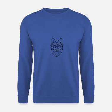 Animal Collection Animal Collection: The Wolf - Men's Sweatshirt