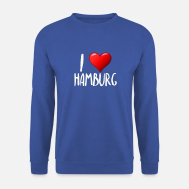 I love Hamburg - Unisex Sweatshirt