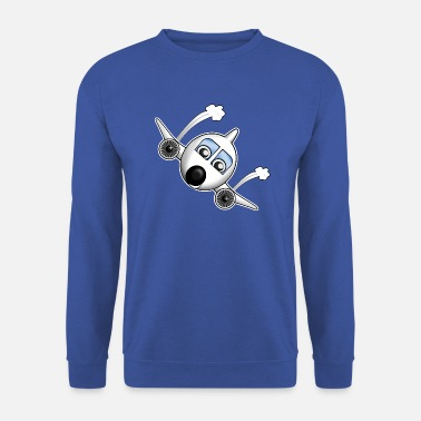 Transport Plane with face - Unisex Sweatshirt
