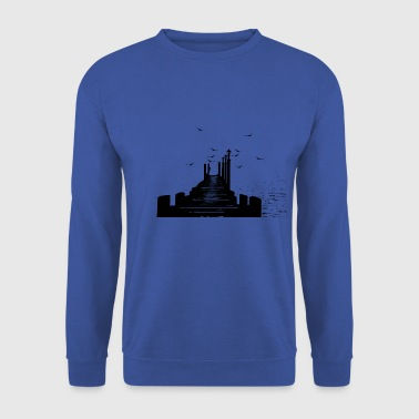 The pier - Men's Sweatshirt