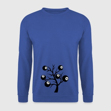 billard arbre branche boule - Sweat-shirt Homme