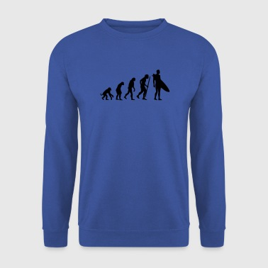 Evolution of Surfing - Men's Sweatshirt