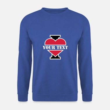 I Love I Love  - Sweat-shirt Homme