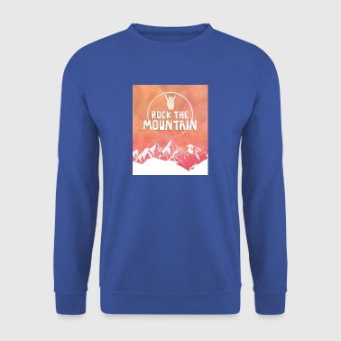 hiking, hiking, leisure, hobbies, mountain - Men's Sweatshirt