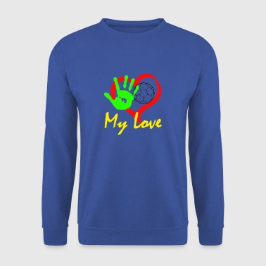 Handball my Love - Men's Sweatshirt