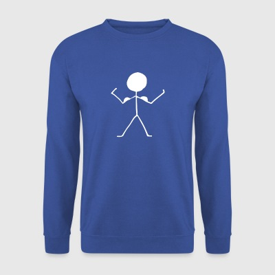 stick figure - Men's Sweatshirt