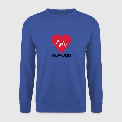 coeur Milwaukee - Sweat-shirt Homme