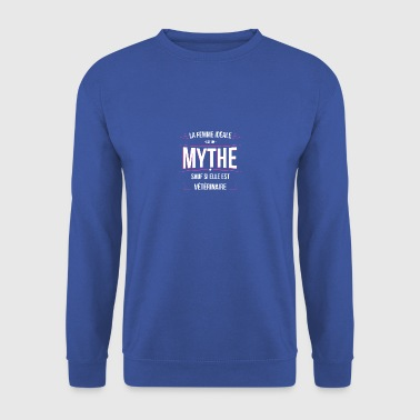 Veterinaire femme ideale Veterinaire - Sweat-shirt Homme