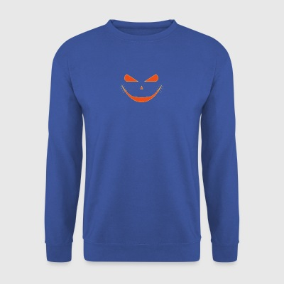 halloween citrouille - Sweat-shirt Homme