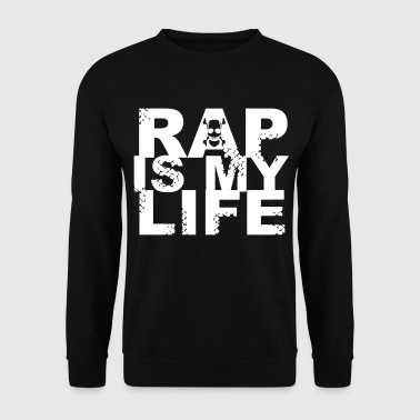 rap is my life - Felpa da uomo