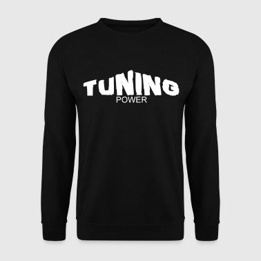 tuning power - Sweat-shirt Homme