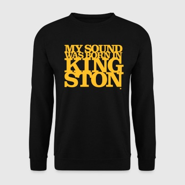 My Sound Was Born In Kingston - Männer Pullover