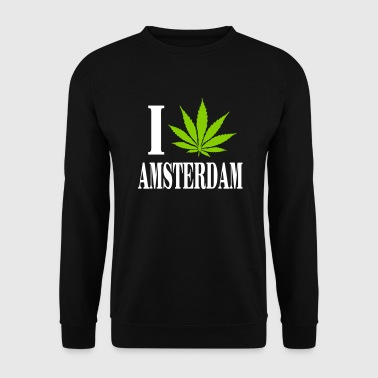 I love amsterdam - Mannen sweater