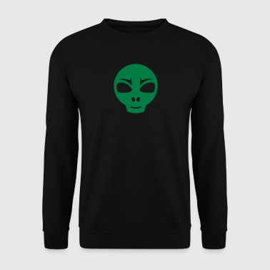 martien extra terrestre icone 17062 - Sweat-shirt Homme