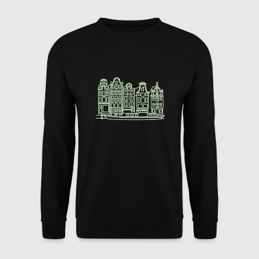 Amsterdam Canal houses - Men's Sweatshirt