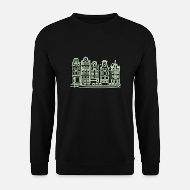 Amsterdam Canaux d'Amsterdam - Sweat-shirt Homme