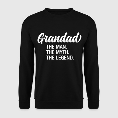 Man Grandad - The Man. The Myth. The Legend. - Mannen sweater