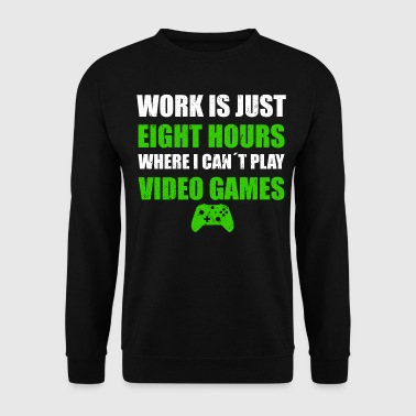PLAY VIDEO GAMES - Sweat-shirt Homme