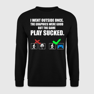 THE GAME PLAY SUCKED  - Sweat-shirt Homme