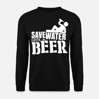 Matura Save water Drink beer - Bluza męska