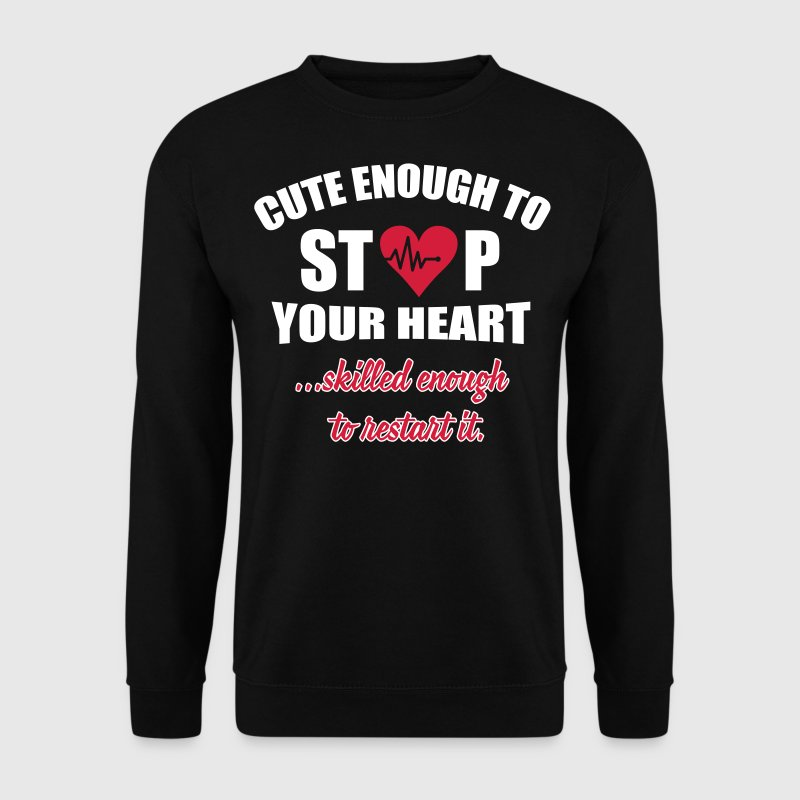 Cute enought to stop your heart - Paramedic - Genser for menn