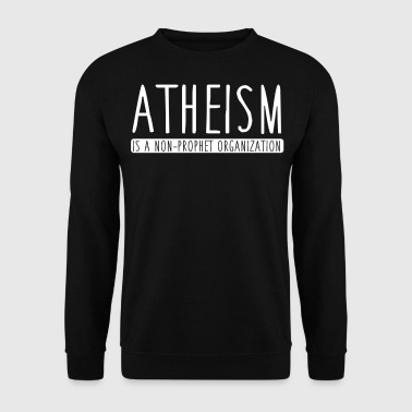 Bro Atheism is a non-prophet organization - Mannen sweater