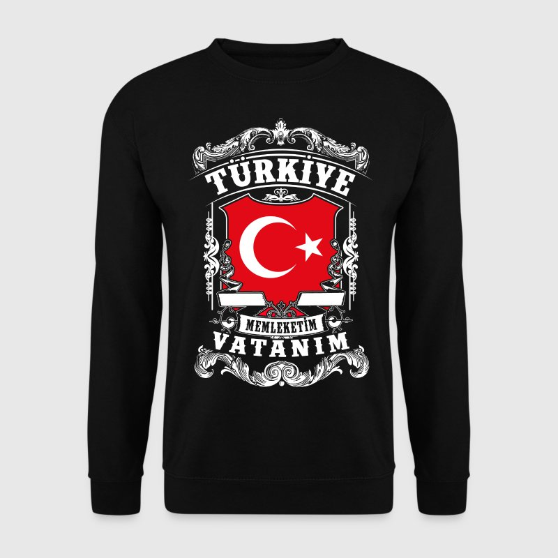 Türkiye -Turkey - Türkei - Sweat-shirt Homme