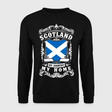 Scotland - My country - My home - Men's Sweatshirt