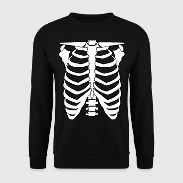 Skeleton menn og damer Halloween Skeleton - Genser for menn