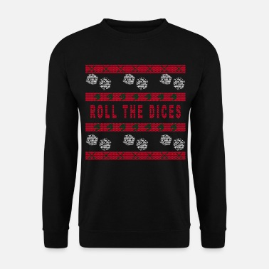 Ugly Christmas Sweater Tabletop RPG - Ugly Christmas Sweater - Bluza męska