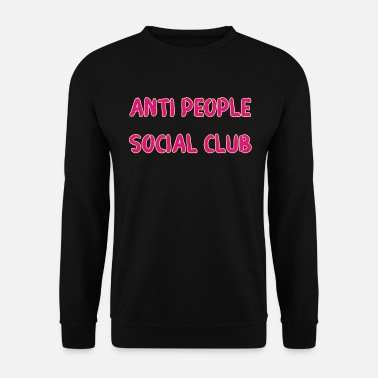 Haters Anti People Social Club Grappig Grappig - Mannen sweater