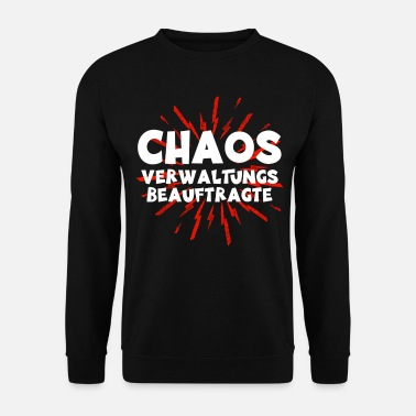 Office Chaos Administration Officer | Funny gift - Men's Sweatshirt