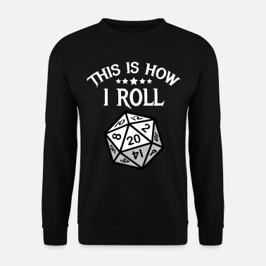 Dungeons And Dragons RPG Dungeon Master Gift Computer Game Play - Men's Sweatshirt
