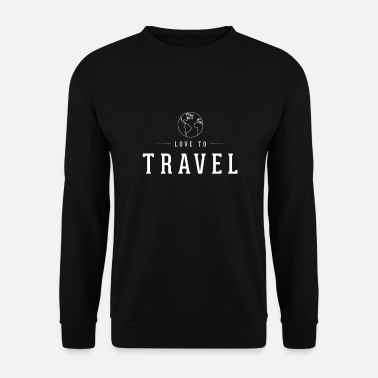 Trip J'adore voyager J'aime voyager - Sweat-shirt Homme