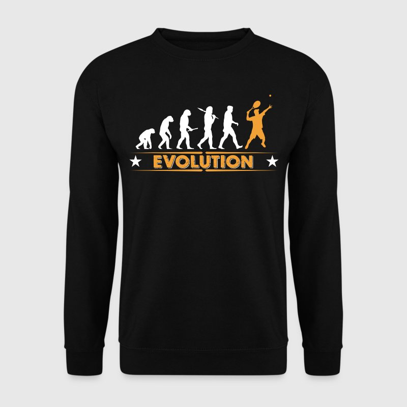 Tennis Evolution - orange/weiss - Men's Sweatshirt