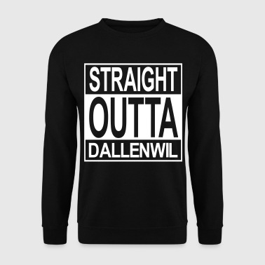 Straight outta  Dallenwil - Männer Pullover