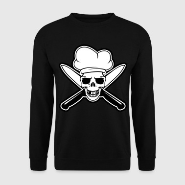 Skull chef - Mannen sweater
