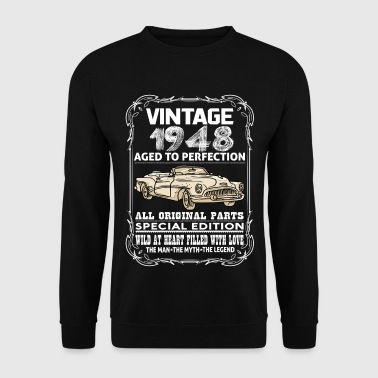 VINTAGE 1948-AGED TO PERFECTION - Men's Sweatshirt