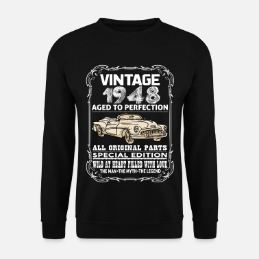 1948 VINTAGE 1948-AGED TO PERFECTION - Men's Sweatshirt