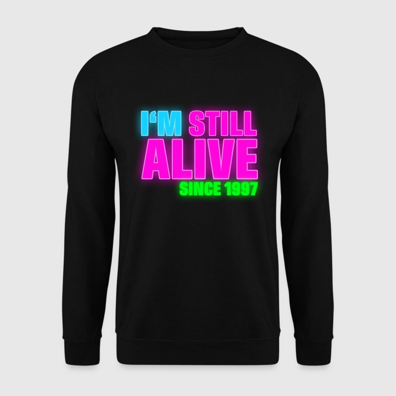 NEON - Birthday - still alive since 1997 (nl) - Mannen sweater