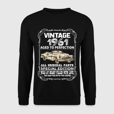 VINTAGE 1961-AGED TO PERFECTION - Men's Sweatshirt