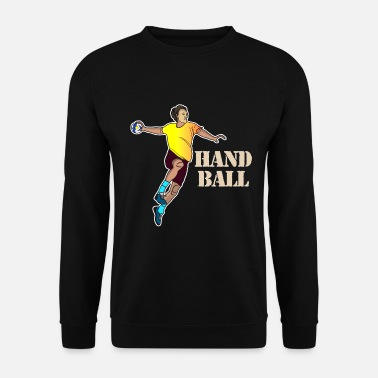 Handball handball handball fan litière handball handball - Sweat-shirt Homme