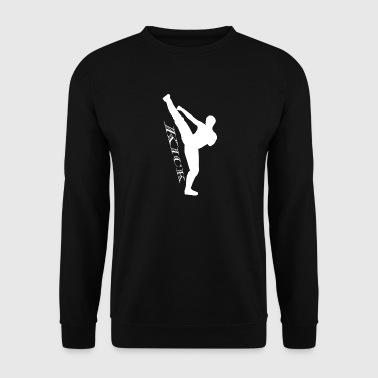 blanc Kick Kick haut - Sweat-shirt Homme