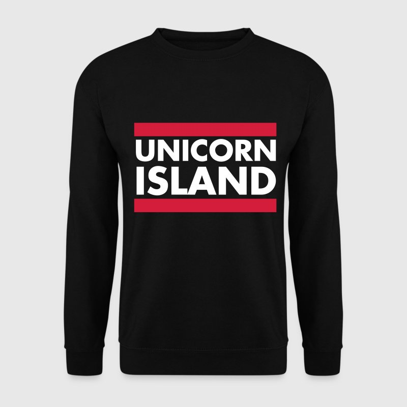 Unicorn Island - Men's Sweatshirt