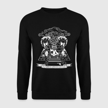 Rick Et Morty Wubba Lubba Dub Dub Pyramide - Sweat-shirt Homme